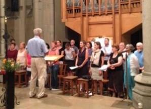 Chantres et chorale paroissiale