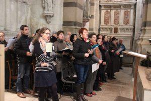 Pâques 2017 : répétitions de la chorale