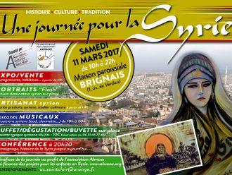 11 mars : 'une journée pour la Syrie' à Brignais