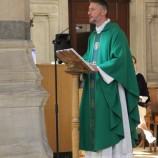 Mot de l'abbé Gaël, à l'issue de la messe d'installation