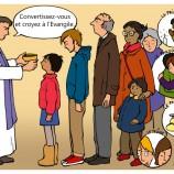 Mercredi des cendres – à midi pour les enfants !