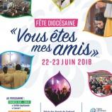 22-23 juin 2018 : Grande fête diocésaine au palais des sports