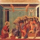 Lavement des pieds et Eucharistie, c'est tout un…