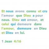 Laissons-nous percuter par cette parole : «Dieu est Amour»