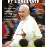 12 juin : soirée autour de l'exhortation du pape François avec l'abbé Gaël