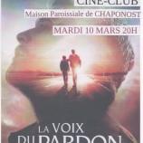 Ciné-club le 10 mars : La voix du pardon