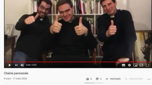 Vos prêtres sur YouTube et facebook : abonnez-vous !