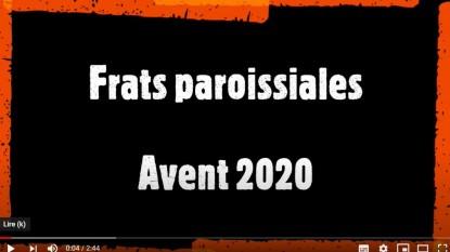 Frats paroissiales Avent 2020 : inscrivez-vous !