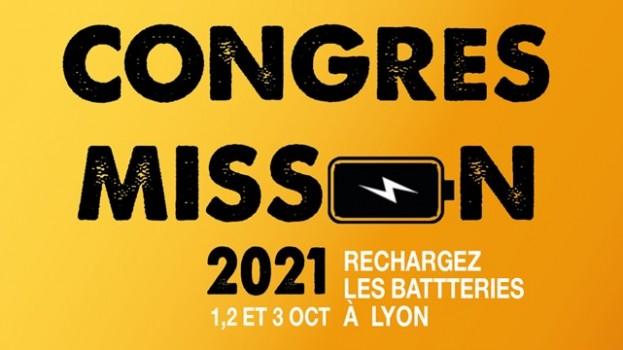 Congrès Mission du 1er au 3 Octobre à Lyon!